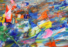 Background of palette. Royalty Free Stock Photography