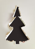 Background paper collection Christmas tree Stock Photography