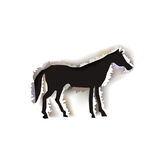 Background paper collection Running horse Stock Images