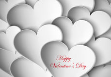 Background paper hearts Royalty Free Stock Photography