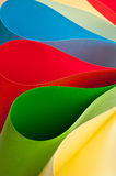 Background paper shapes Royalty Free Stock Image