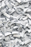 Background of Paper shreds Royalty Free Stock Photography