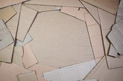 Background of paper textures piled ready to recycle. A pack of old office cardboard for recycling of waste paper. Pile of wastepa. Per stock image