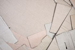 Background of paper textures piled ready to recycle. A pack of old office cardboard for recycling of waste paper. Pile of. Wastepaper royalty free stock photography