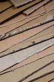 Background of paper textures piled ready to recycle. A pack of old office cardboard for recycling of waste paper. Pile of wastepa. Per stock photos
