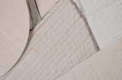 Background of paper textures piled ready to recycle. A pack of old office cardboard for recycling of waste paper. Pile of. Wastepaper royalty free stock images