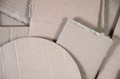 Background of paper textures piled ready to recycle. A pack of old office cardboard for recycling of waste paper. Pile of. Wastepaper stock photo