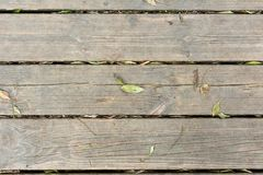 Background of parallel wooden boards Royalty Free Stock Images