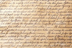 Background Parchment Paper Calligraphy Royalty Free Stock Photo