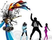 Background party illustration stock illustration