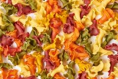 Background of pasta Royalty Free Stock Photos