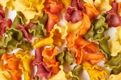 Background of pasta Stock Image