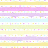 Background Pastel Stripes Stock Photography