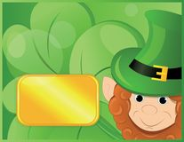 Background  on patrick day Royalty Free Stock Images