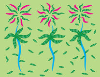Background pattens. Flower patterned background very nice to have some job Stock Images