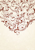 Background with pattern. Decorative template for text, illustration Royalty Free Stock Images