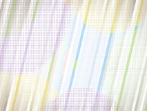 Background Pattern. Unique and abstract halftone background pattern with diagonal lines and vibrant colors stock illustration
