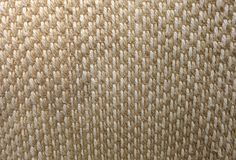 Closed Up of Square Texture of Basket Weave Pattern. Background Pattern, Brown Handicraft Weave Texture Wicker Surface for Furniture Material Royalty Free Stock Photos