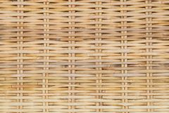 Closed Up of Rattan Texture of Basket Weave Pattern Stock Images