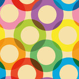 Background pattern with circles Royalty Free Stock Photo
