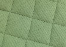 Horizontal Texture of Green Upholstery Fabric Pattern Background Royalty Free Stock Images
