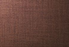 Background Pattern of Dark Brown Textile Texture Royalty Free Stock Photography