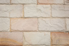Background pattern of decorative  stone wall surface Royalty Free Stock Photo