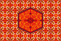 Background Pattern Design Kawung Javanese Batik Ornament Indonesia Stock Photo