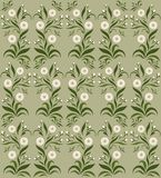 Background/pattern with flowers Stock Image