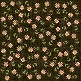 Background/pattern with flowers Stock Photo