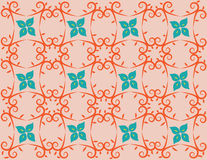 Background pattern of flowers Royalty Free Stock Photo