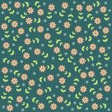Background/pattern with flowers Stock Photography