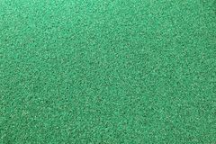 Texture Background of The Green Plastic Doormat Royalty Free Stock Image