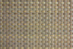 Woven cane background Royalty Free Stock Photos