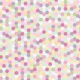 Background with pattern motley shiny mosaic abstract vector illu Stock Image
