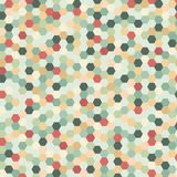 Background with pattern motley shiny mosaic abstract vector illu Stock Images
