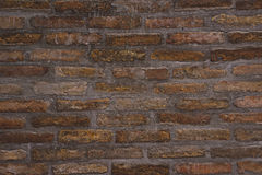 Background Pattern of Old Brick Wall Texture Stock Photos