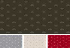 Background pattern: ornament. Decorative background pattern with ornaments Stock Photography