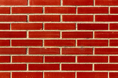 Background pattern. perfect brick wall. Perfect brick wall pattern background Stock Photography