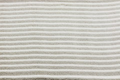 Background pattern of raked white sand Stock Photos