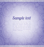 Background pattern with sample text Stock Photos