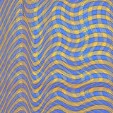 Background pattern in a square blue and yellow. vector illustrat Royalty Free Stock Photos