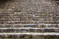 Background pattern of stairs leading upwards Royalty Free Stock Images