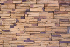 Background Pattern of Stone Tiles Royalty Free Stock Photography
