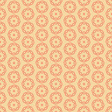 Background pattern with stylized flowers Stock Photography