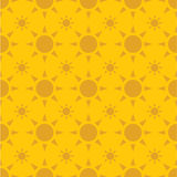 Background pattern with sun Royalty Free Stock Photo