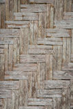 Background or Pattern of Surface brown wood Stock Image