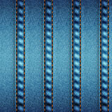 Background pattern. Texture of denim fabric. Royalty Free Stock Images