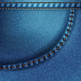 Background pattern. Texture of denim fabric. Stock Photos