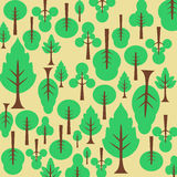 Background pattern tree Stock Photo